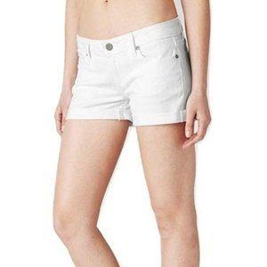 Paige Jimmy Jimmy size 25 white boyfriend shorts